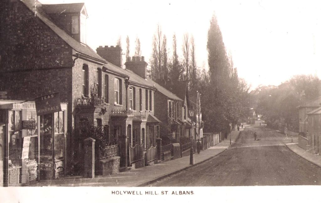 Holywell Hill 1912